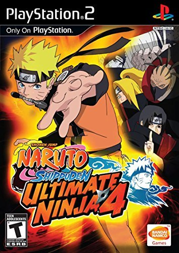 Ps2 Naruto Ultimate Ninja 4