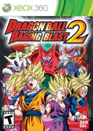 Xbox 360 Dragon Ball Raging Blast 2 Namco Bandai Games Amer T