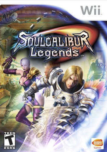 Wii Soul Calibur Legends M