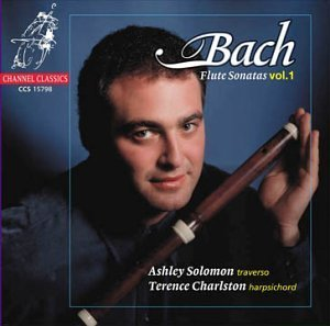 Ashley Solomon Vol. 1 Bach Flute Sonatas