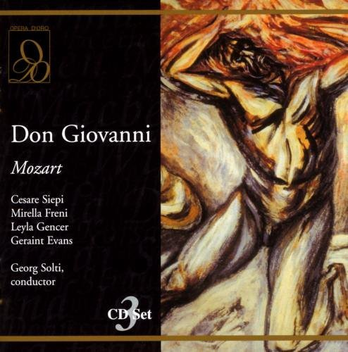 Wolfgang Amadeus Mozart Don Giovanni 3 CD