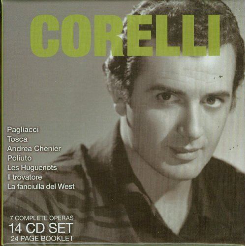 Franco Corelli Legendary Performances Of Fr