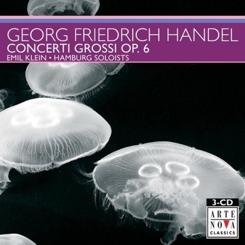 George Frideric Handel Concerti Grossi Op 6 Hamburg Soloists 3 CD