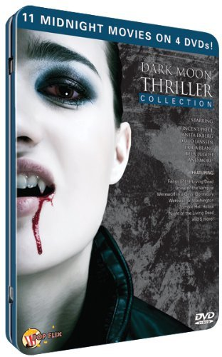4 DVD Collector Tin Dark Moon Thriller Collection Ws Nr