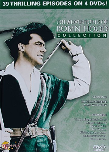 Adventures Of Robin Hood Colle 4 DVD Collector Tin Nr