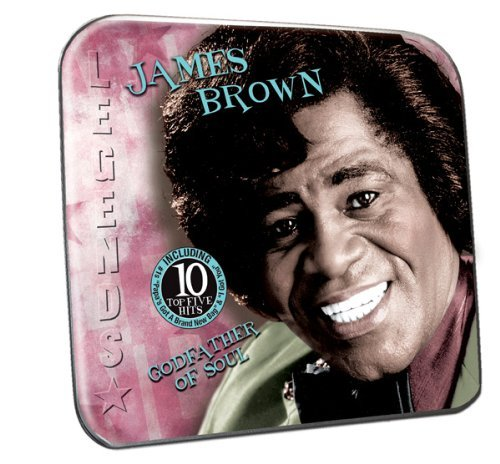 James Brown Godfather Of Soul Collector's Tin Packaging