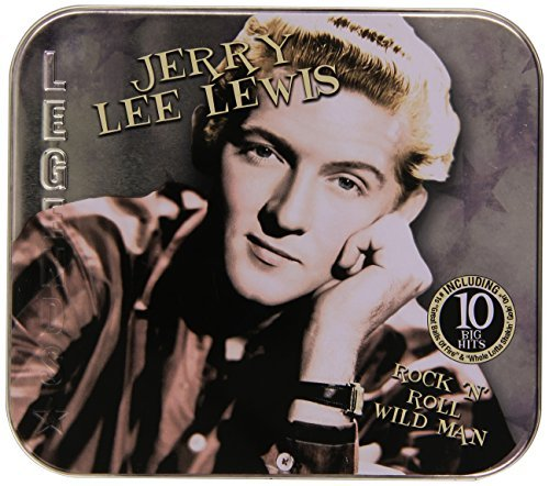 Jerry Lee Lewis Rock 'n' Roll Wild Man Collector's Tin Packaging