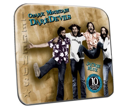 Ozark Mountain Daredevils Jackie Blue Collector's Tin Packaging