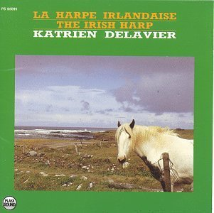 Katrien Delavier Irish Harp