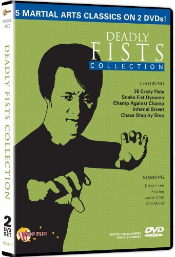 Deadly Fists Martial Arts Coll Deadly Fists Martial Arts Coll Pg13 2 DVD