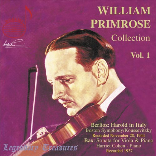 William Primrose Collection Vol. 1 Primrose (va) Koussevitzky Boston So