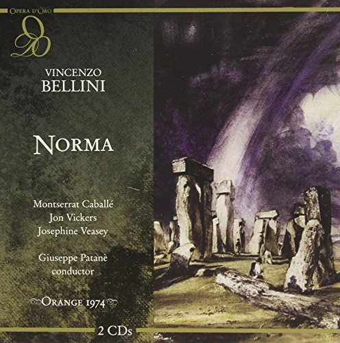 V. Bellini Norma Caballe Vickers Veasey Ferrin Patane Royal Torino Orch & Cho
