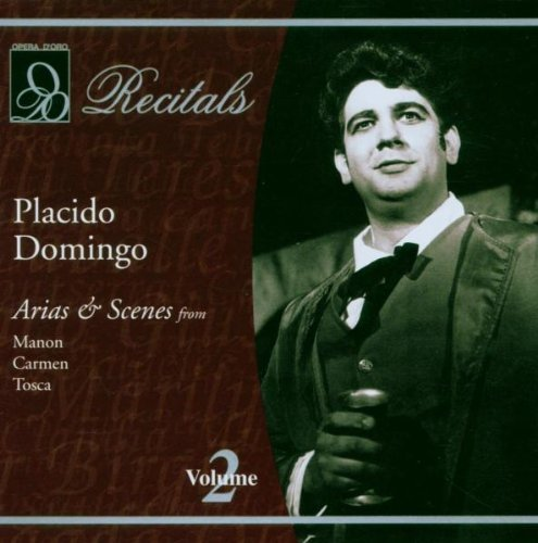 Placido Domingo Recitals Domingo (ten) Various