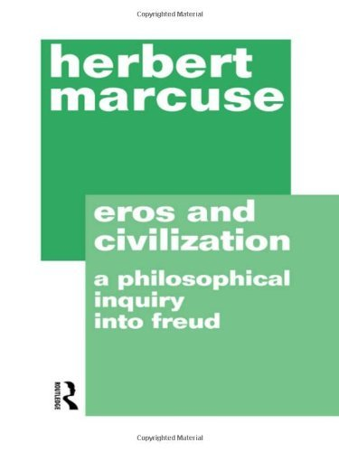 Herbert Marcuse Eros And Civilization 0002 Edition;