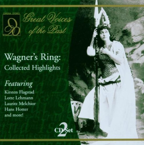 Richard Wagner Wagner's Ring Collected Hig Branzell Lehmann Melchior &