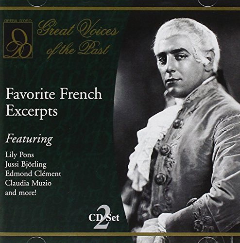 Favorite French Excerpts Favorite French Excerpts Pons Jorunet Plancon Moore &