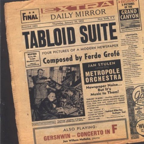 Metropole Orchestra Tabloid Suite 2 CD