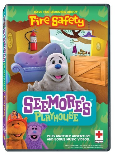 Fire Safety Seemores Playhouse DVD Mod This Item Is Made On Demand Could Take 2 3 Weeks For Delivery