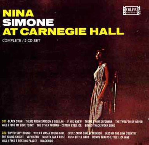 Nina Simone At Carnegie Hall Inmport Eu