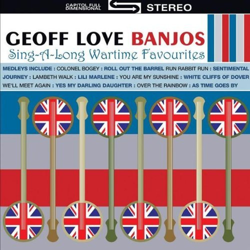 Geoff Love Banjos 50 Sing A Long Wartime Favouri Import Gbr