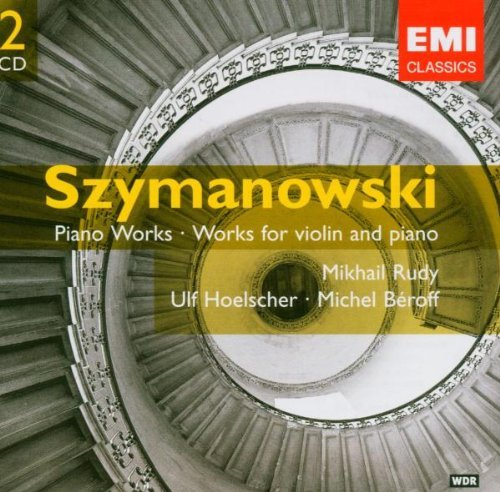K. Szymanowski Violin Piano Music Hoelscher*ulf (vn) 2 CD Set