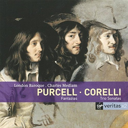 London Baroque Corelli Purcell Trios Sonata Import Eu 2 CD Set