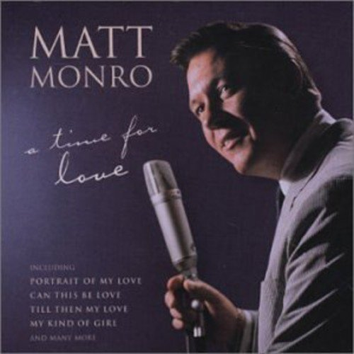 Matt Monro Time For Love Import Aus