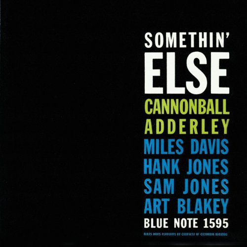 Cannonball Adderley Somethin' Else Remastered Rudy Van Gelder Editions