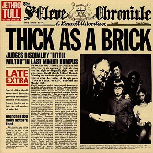 Jethro Tull Thick As A Brick Incl. Bonus Tracks