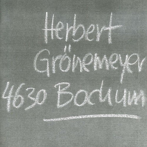 Herbert Gronemeyer 4630 Bochum Import Eu