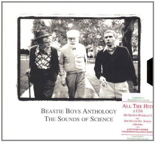 Beastie Boys Anthology Sounds Of Science Incl. Booklet 2 CD