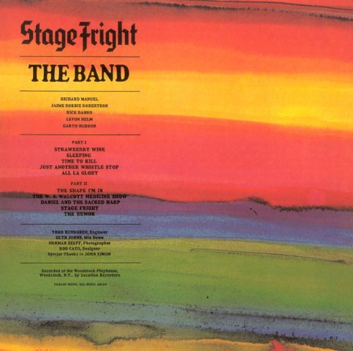 Band Stage Fright Remastered Incl. Bonus Tracks Booklet