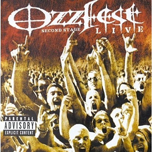 Ozzfest Second Stage Live Ozzfest Second Stage Live Explicit Version Enhanced CD Incl. Sega Dreamcast Games