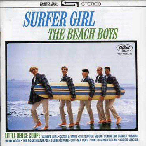Beach Boys Surfer Girl Vol. 2 Shut Down Remastered 2 On 1 Incl. Bonus Tracks