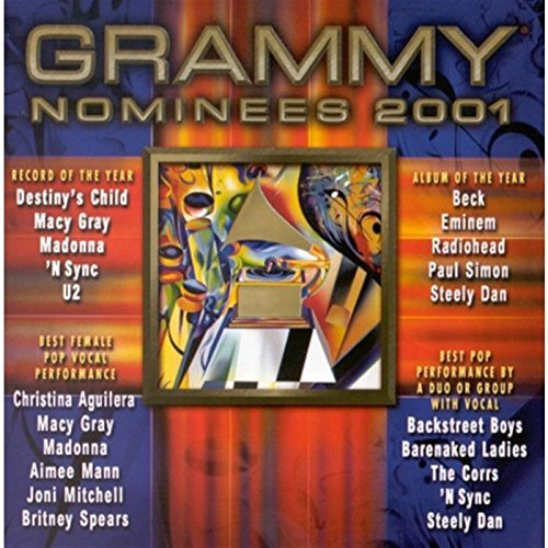 Grammy Nominees 2001 Grammy Pop Nominees Radiohead Aguilera Gray Mann Grammy Nominees