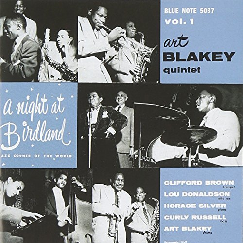 Art Blakey Vol. 1 Night At Birdland Remastered Rudy Van Gelder Editions
