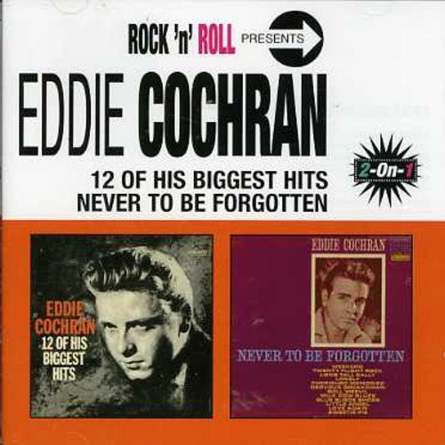 Eddie Cochran 12 Biggest Hits Never To Be Import Net Remastered