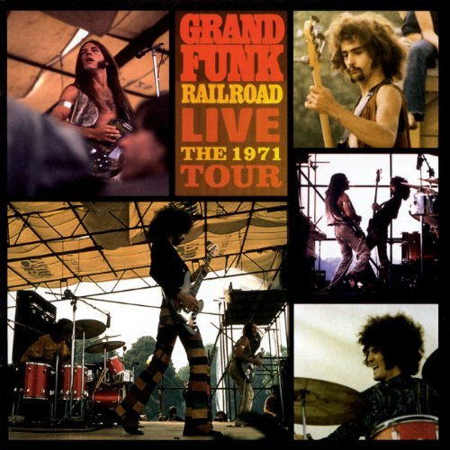 Grand Funk Railroad Live 1971 Tour