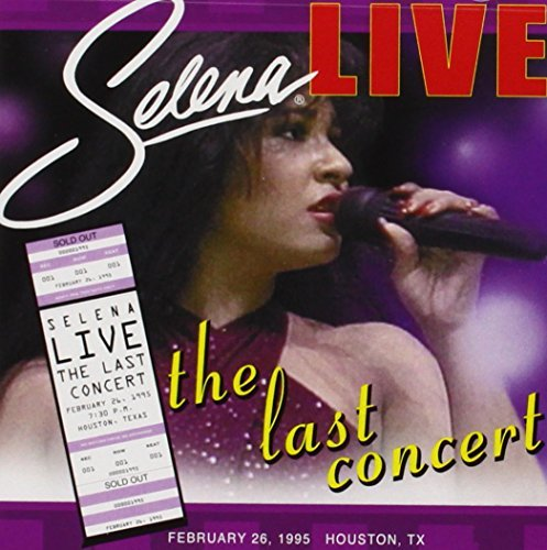 Selena Live Last Concert Enhanced CD Remastered