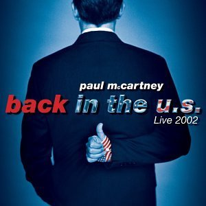 Mccartney Paul Back In The U.S. Live 2002 2 CD Set