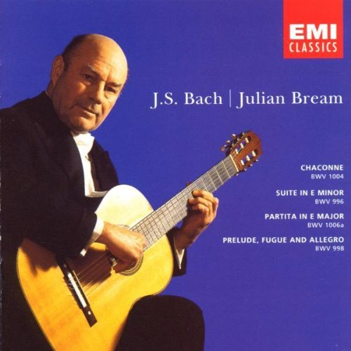 Julian Bream Bach Guitar Recital Bream*julian (gtr)