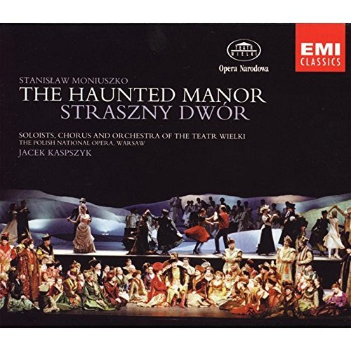 S. Moniuszko Haunted Manor 2 CD Set Kaspszyk Polish National Opera