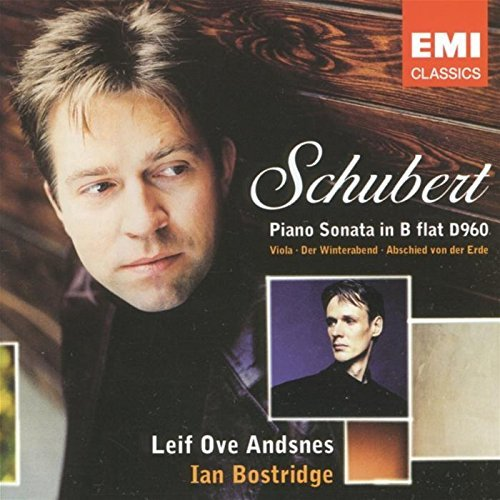 Schubert F. Son Pno Andsnes (pno) Bostridge (ten)