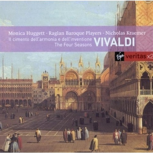 A. Vivaldi Four Seasons & Other Cons 2 CD Set Huggett Raglan Baroque Players