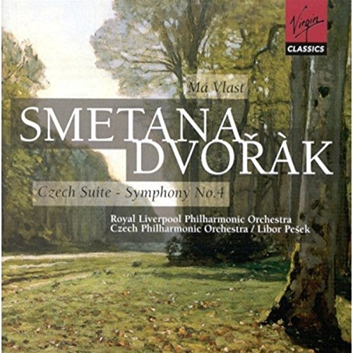 Smetana Dvorak Ma Vlast My Home Ov Sym 4 2 CD Set Pesek Various