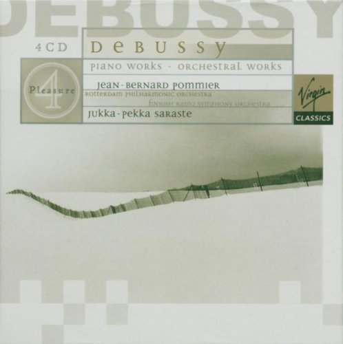 Debussy C. Piano Orchestral Works Pommier*jean Bernard (pno) Sarasate Various