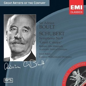 Adrian Boult Plays Schubert Smy 9 Plays Br