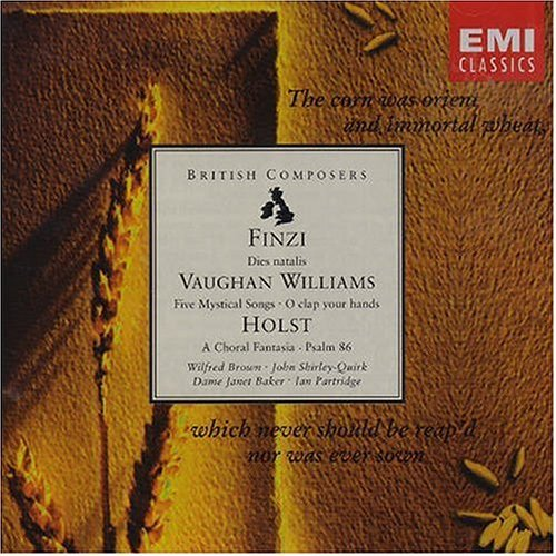 Finzi Vaughan Williams Holst Dies Natalis Choral Fant