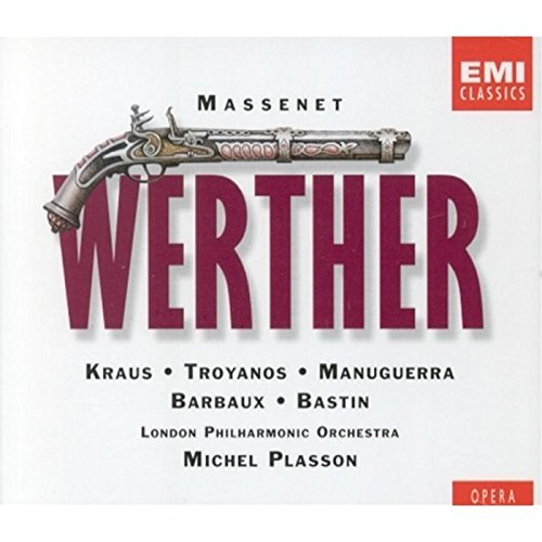 J. Massenet Werther Kraus Troyanos Plasson 2 CD Set