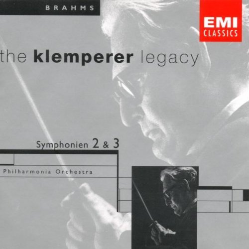 Otto Klemperer Conducts Brahms Sym 2 3 Klemperer Legacy Series